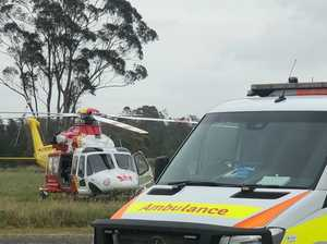 Man seriously injured in quad bike rollover