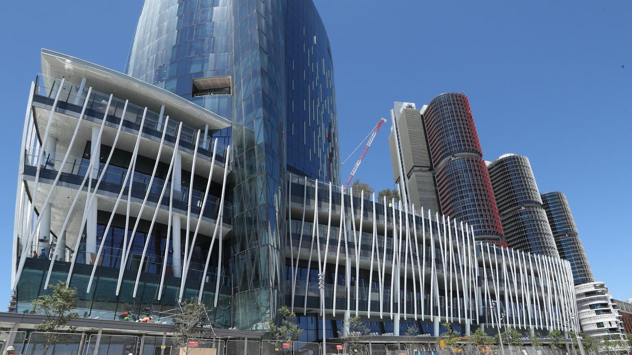 Crown Sydney was expected to open in December but has been delayed till at least February. Picture: Richard Dobson