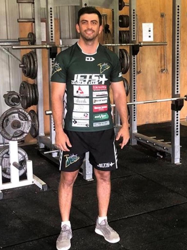 Ipswich Jets strength and conditioning coach Jonathan Dore