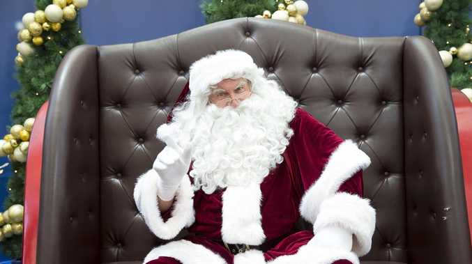 Where you can get pics with Santa in Gympie