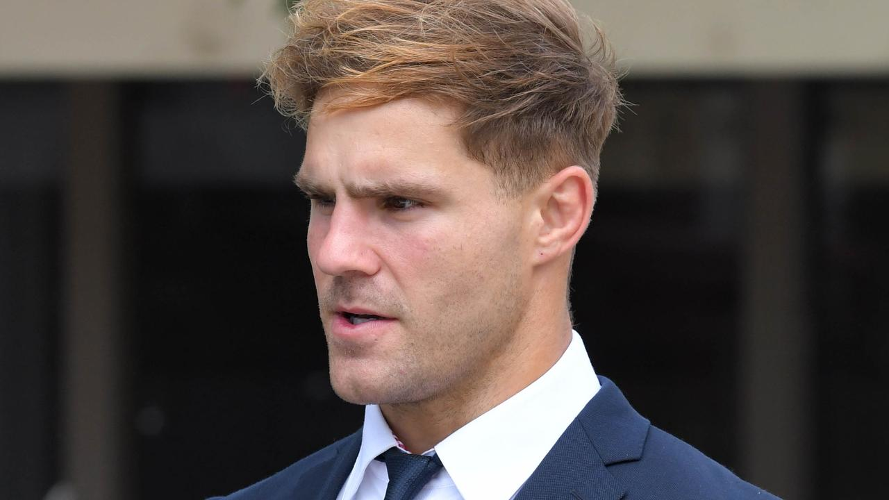 Jack de Belin is fighting allegations he sexually assaulted a young woman. Picture: NCA NewsWire / Simon Bullard.