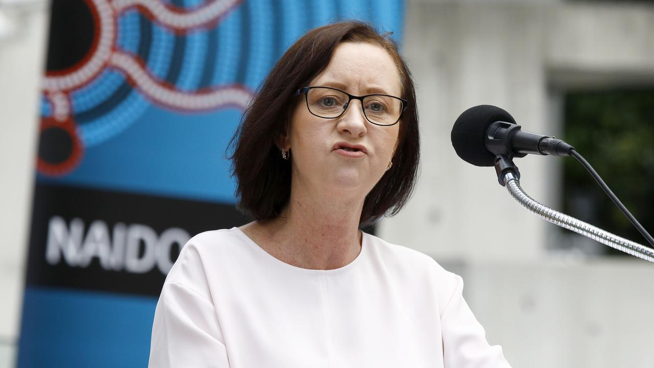 Queensland Health Minister Yvette D'Ath says Queensland was right to take quick action on the borders, as other states had. Picture: NCA NewsWire/Tertius Pickard