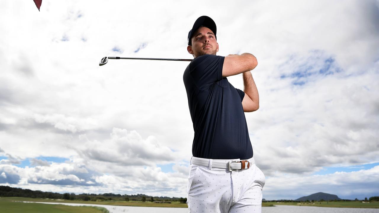Pro golfer Charlie Dann Picture: Patrick Woods.