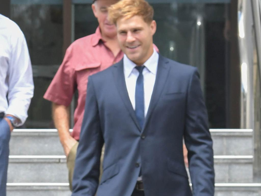 Jack de Belin is standing trial in the Wollongong District Court where he has denied sexually assaulting a woman. Picture: NCA NewsWire / Simon Bullard.