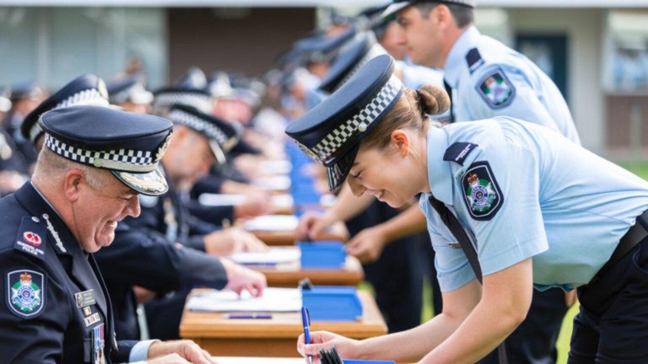 79 FYCs will be deployed across Queensland. Photo: QPS