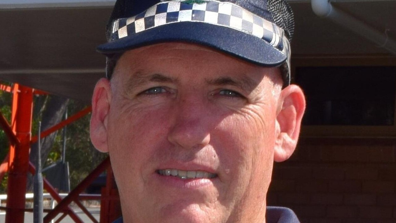Noosa police officer-in-charge Sen-Sgt Ben Carroll.