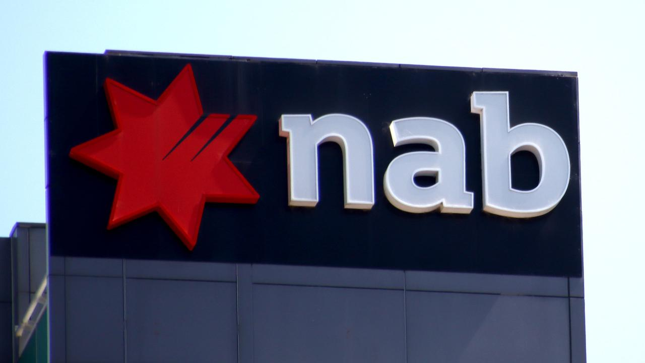 NAB has closed its branches nationwide. Picture: David Clark