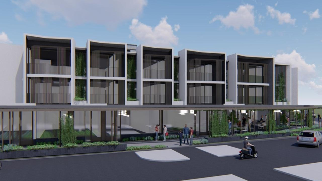 Byron Shire Council will consider an application to change approved plans for a mixed use development on the corner of Jonson and Browning Sts in Byron Bay.