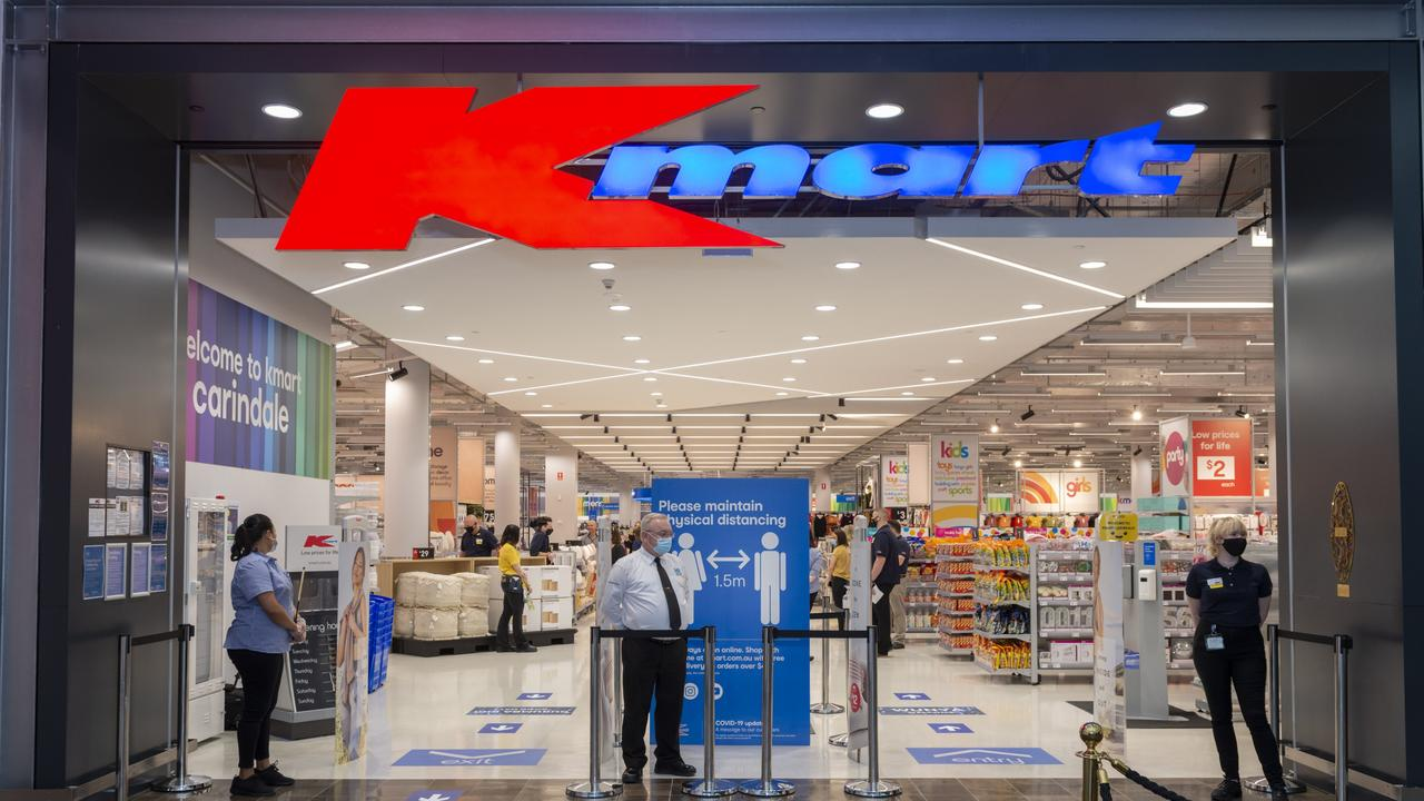 Kmart's K could be a nod to its founder Mr Kresge.