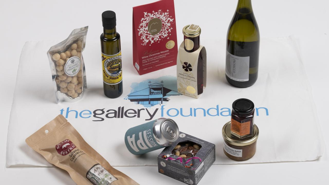 The Gallery Foundation is offering Christmas hampers as part of their fundraising efforts to support the Grafton Regional Gallery.
