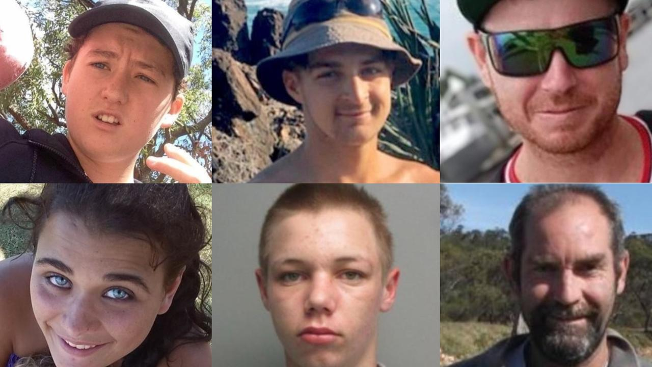 Jasper Dallas Pasfield, Dylan Andrew, Mark Allan Tierney, Jade Ann Sherlock, Jake Peter Gadd and Clifford Jeffrey Keith Campbell have faced court for crimes at bus stops.