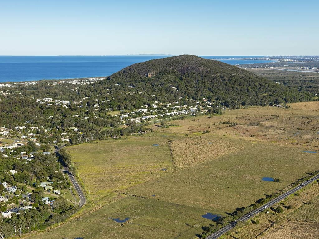Two parcels of land adjacent to the Sunshine Motorway at Coolum have come onto the market with major development potential.