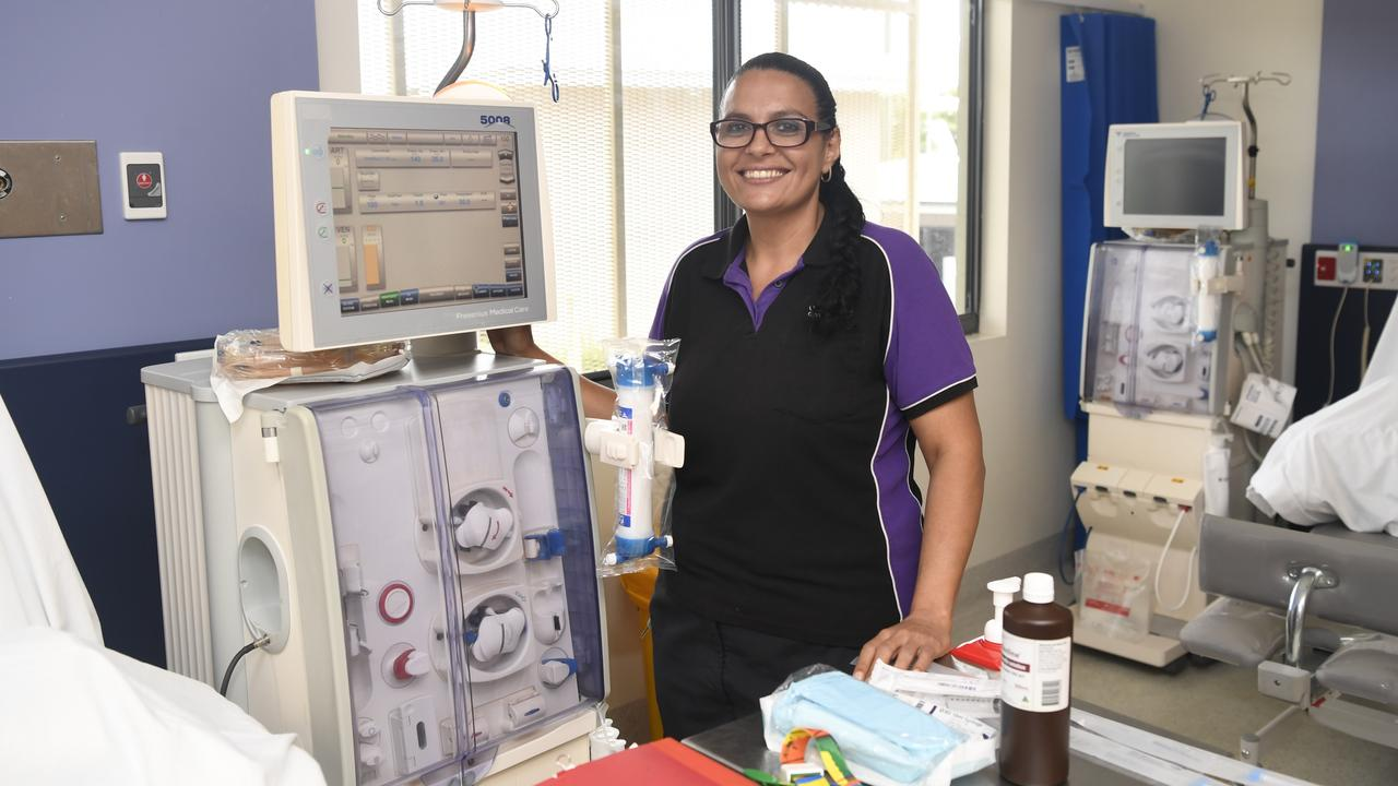 Palm Island dialysis nurse Lauwana Blackley is the 2020 Shine Awards Dedication winner.