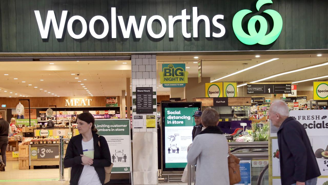 The Big W chain grew from Woolworths' original stores. Picture: NCA NewsWire / Dean Martin