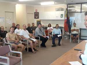 Shark attack survivor address community in mitigation talks