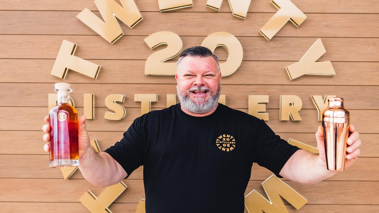 Brian Bedding has something to shout about at last as prepares to open his bar at Cooroy.