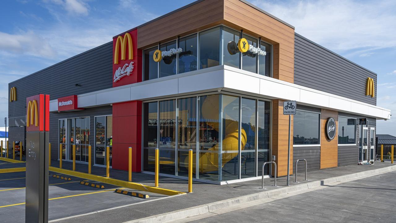 McDonald's has opened a restaurant in Eden's Crossing on Thursday, 19 November, 2020.