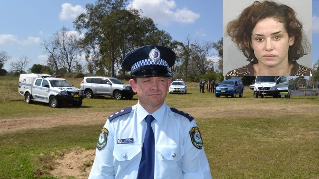 n a statement to Counsel assisting the Coroner Maria Gerace, Detective Senior Sergeant Peter O'Reilly revealed the extent to which local investigative teams were under-resourced around the time of Jasmine Morris' disappearance. Pictured is Det Sr Sgt O'Reilly at the scene of a Clarenza property in 2013, where an unsuccessful search was undertaken for Ms Morris' body. Photo: Lachlan Thompson