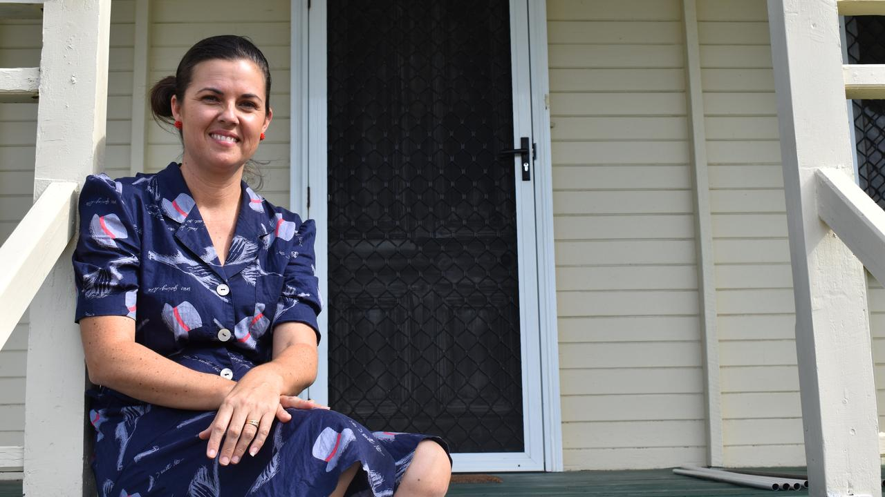 Owner of Bundaberg's New Vintage store, Sandra Reeves is in the process of finalising her brand new project – a new Air BnB called George's Cottage. Picture: Rhylea Millar