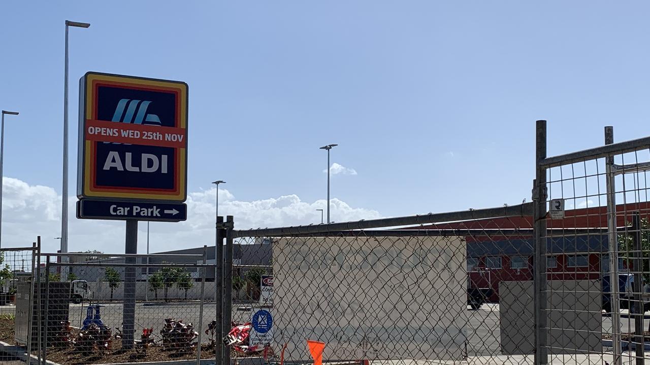 OPENING SOON: The new ALDI Avoca is set to open next week.