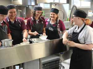 Hospitality students cooking up formal first for school