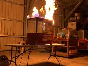 Explosive reactions giving region's fireys critical skills