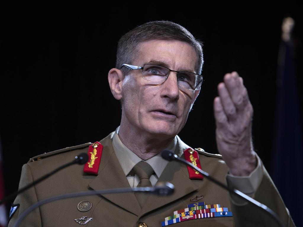 Chief of the Defence Force General Angus Campbell. Picture: NCA NewsWire /Gary Ramage