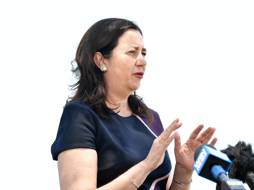 Annastacia Palaszczuk accused Scott Morrison of 'bullying her' over funerals. Picture: Patrick Woods / Sunshine Coast Daily.