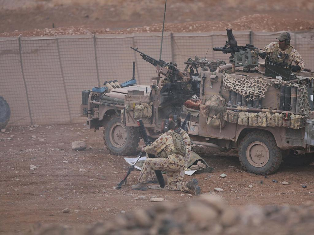 Australian soldiers from the Special Operations Task Group based in Oruzgan Province, Afghanistan.
