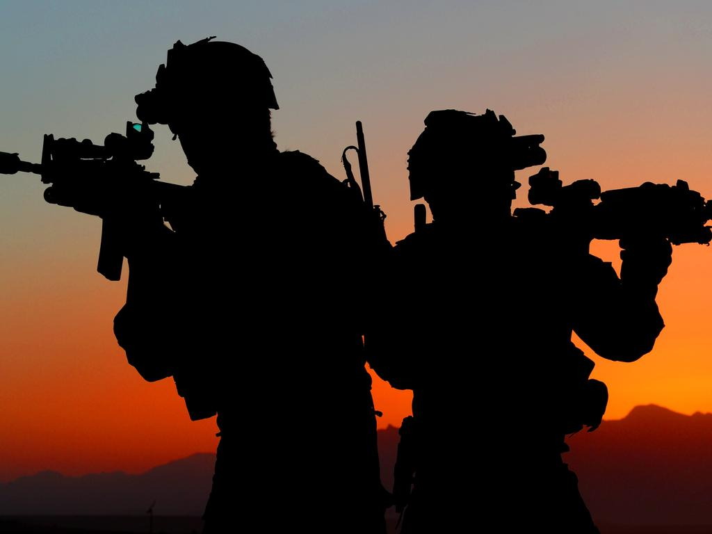 Twenty five elite soldiers, mainly from the Special Air Services Regiment (SASR), are accused of unlawfully killing 39 Afghani men and adolescent males. Picture: Department of Defence