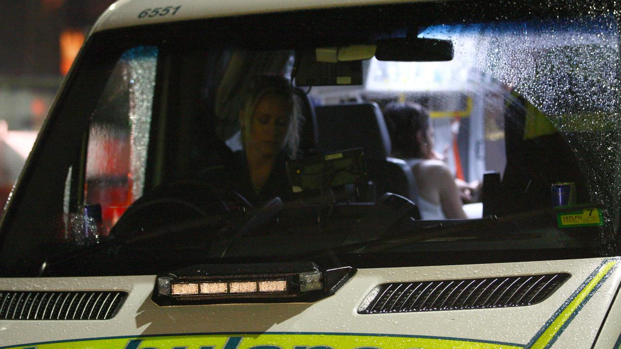 A Queensland Ambulance Service spokeswoman said the woman in her 30s was reportedly bitten while at a private property at 7.54pm.