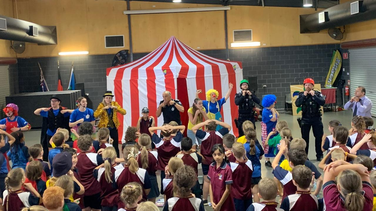 Moranbah police have been involved in road safety presentations aimed at students from local schools with the goal of educating them on how to keep themselves safe on the roads in and around Moranbah.
