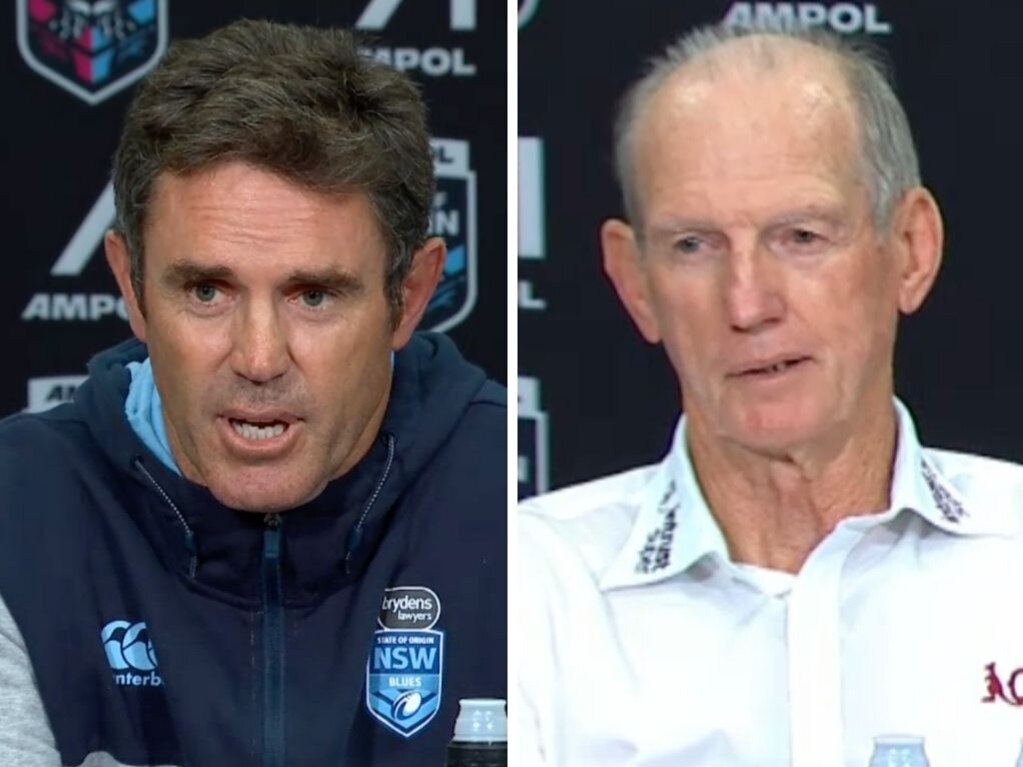 Brad Fittler and Wayne Bennett.