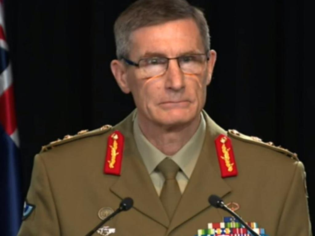 Chief of the Australian Defence Force General Angus Campbell. Picture: ABC