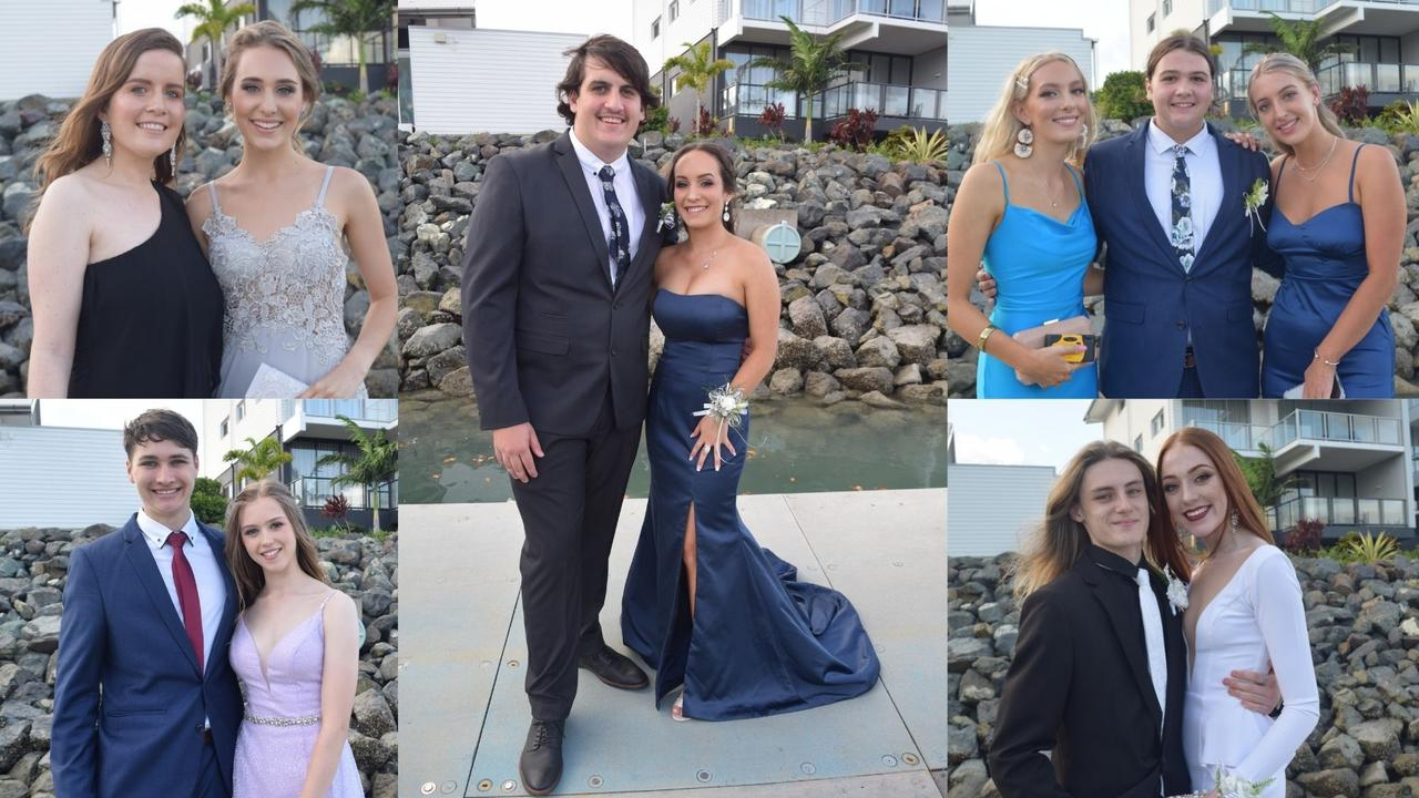 Students from Proserpine State High School bid farewell to 2020 in style with their formal at Daydream Island. Pictures: Elyse Wurm