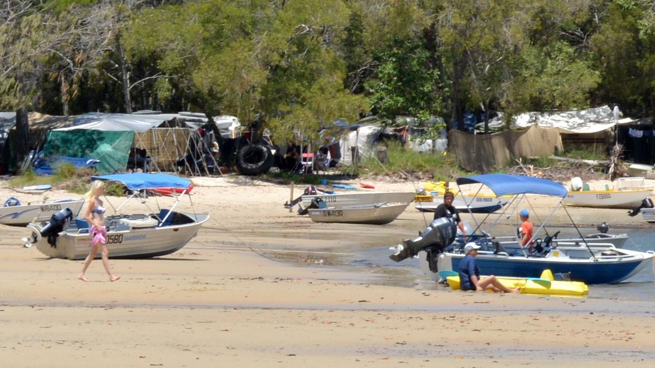 An investigation has been launched after several people contracted gastro at Inskip Point. Picture: Gympie Times
