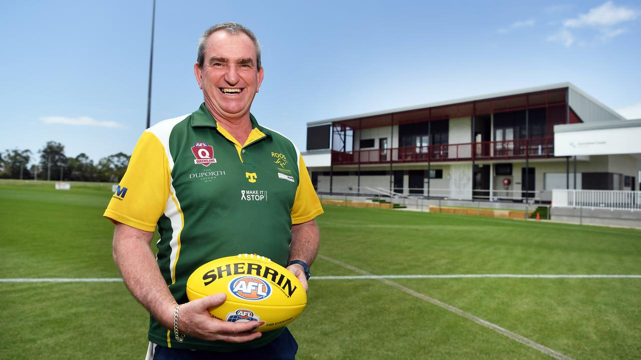 Maroochydore Roos coach Andrew Cadzow. Picture: Patrick Woods