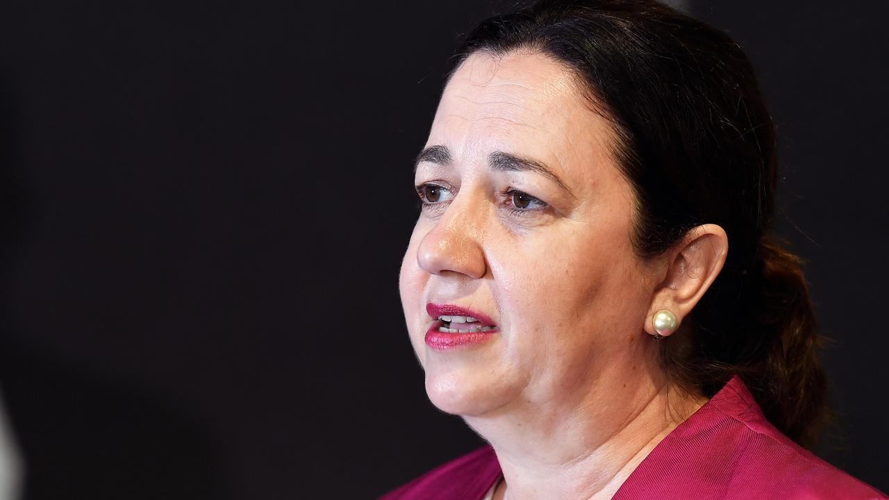 Queensland Premier Annastacia Palaszczuk. Picture: Patrick Woods.