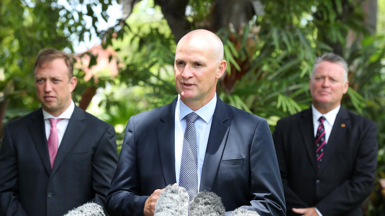 Minister for Regional Development, Manufacturing and Minister for Water, Glenn Butcher, following his swearing in ceremony at Government House, Paddington. Photographer: Liam Kidston