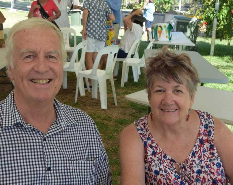 Rockhampton's Gary and Pauline Stait at Country on Keppel.