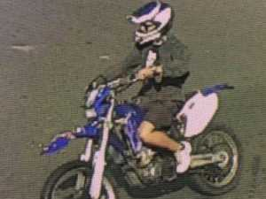 POLICE HUNT: Do you know this dirt bike rider?