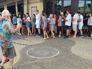 LET THE MUSIC PLAY: Buskers back on Byron streets