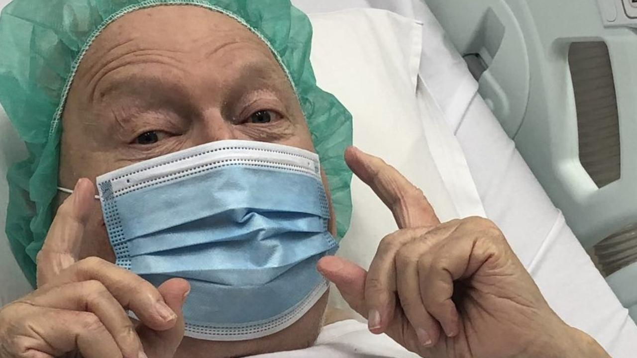 Bert Newton has been in hospital. Picture: Instagram