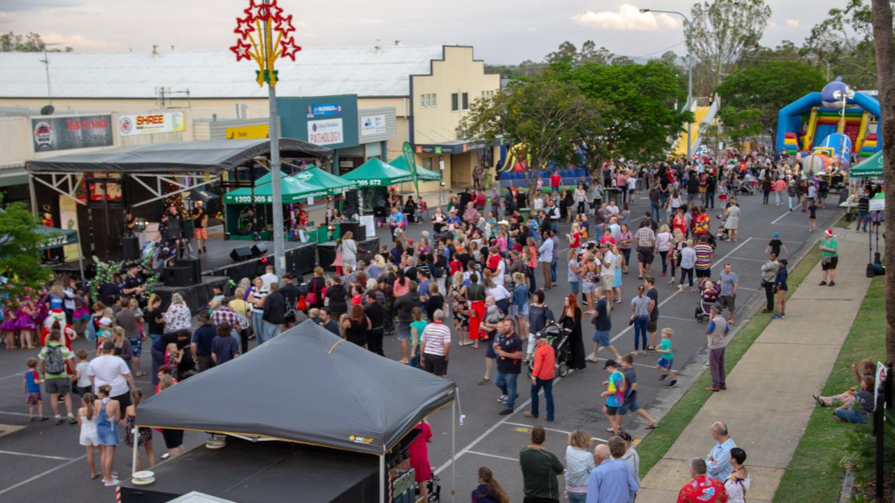 2018 Gatton Christmas Carnival. Photo: Dominic Elsome (Copyright: News Regional Media)