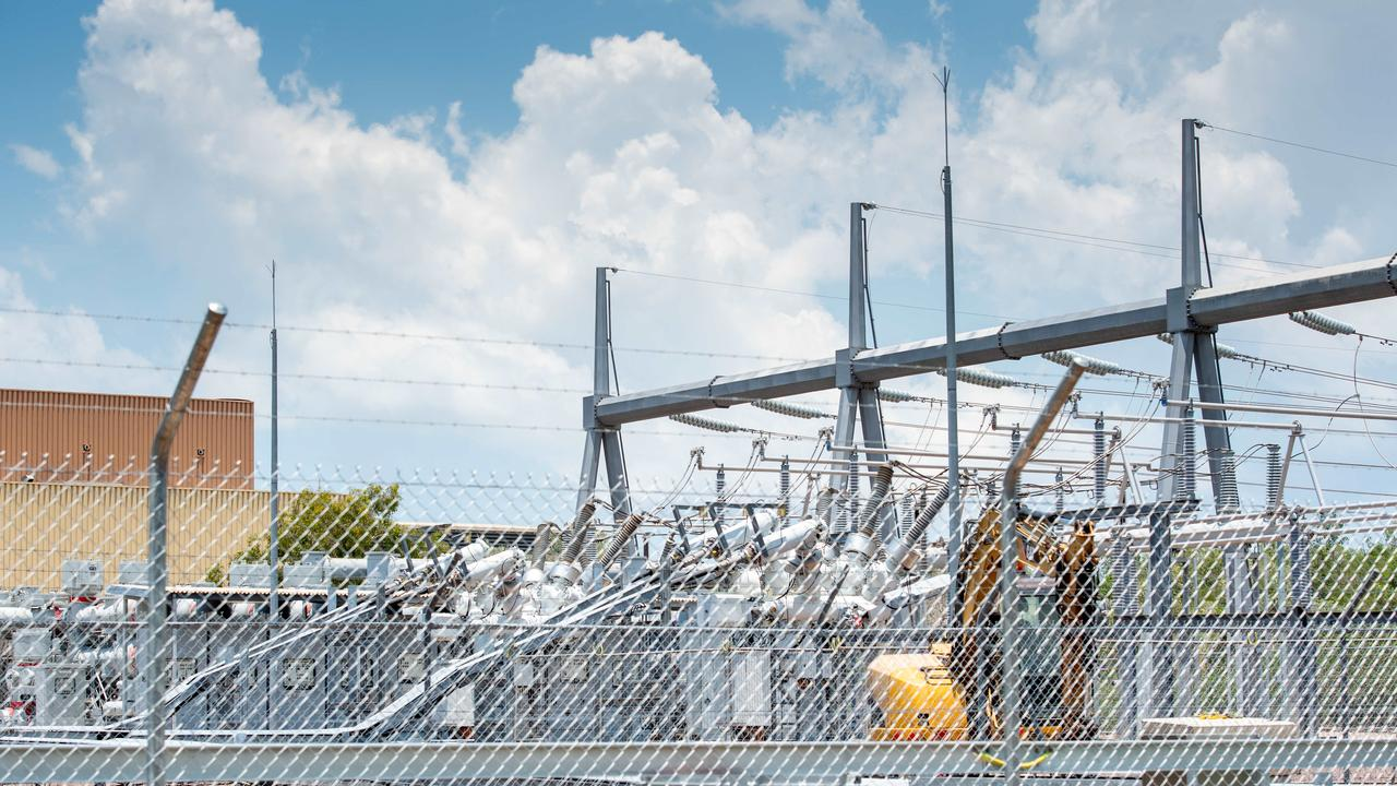 Channel Island Power Station suffered a gas supply interruption which cut the power across the Darwin and Katherine network. Picture: Che Chorley