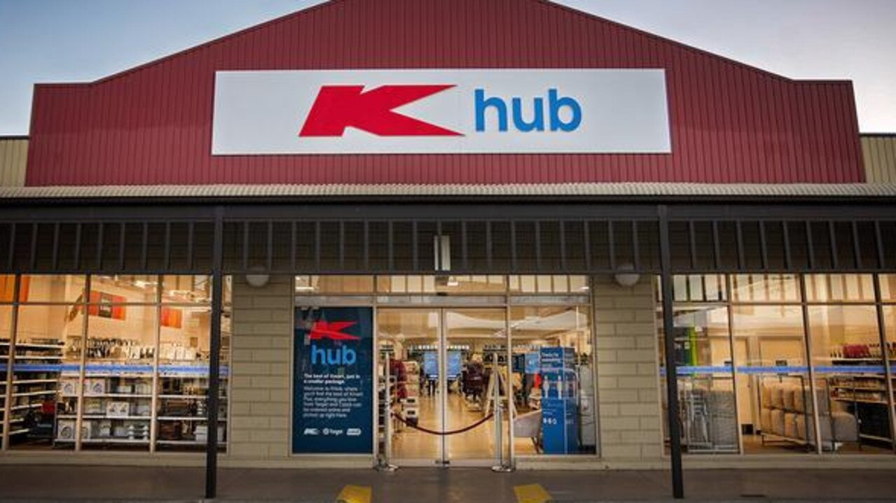 Kmart introduces new 'K Hub' stores to replace Target outlets. Source:Supplied