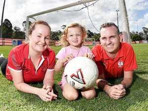 Club kicks goals to help little Malia live a full life