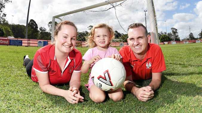Club kicks goals to help little Malia live a full life