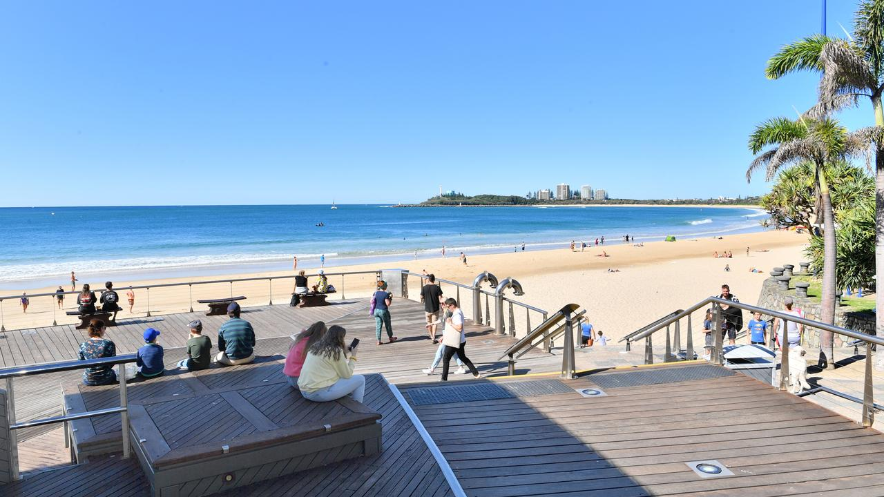 Loo With a View at Mooloolaba Beach. Picture: John McCutcheon
