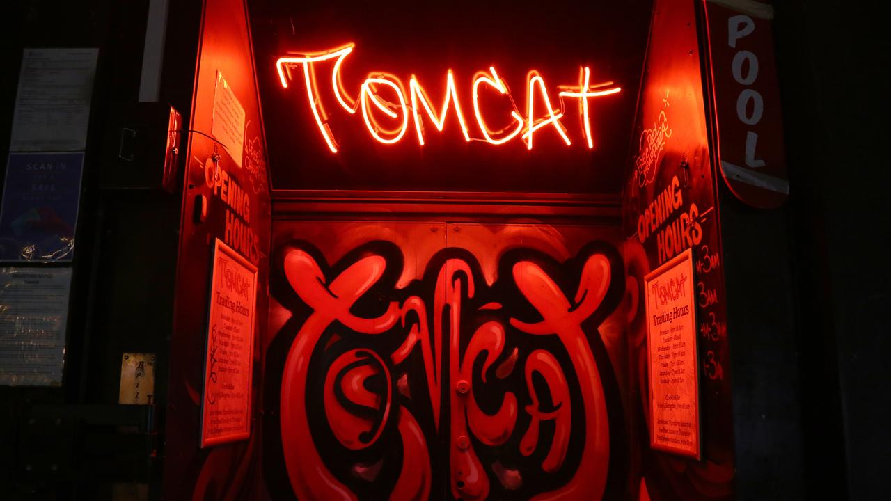 IN COURT: Calum Wood Gunnis faced Dalby Magistrates Court on one charge of assault occasioning bodily harm. Pictured here is TomCat bar in Fortitude Valley. Photo: AAP Image/ David Clark